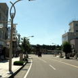 ■村上駅前