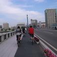 ■萬代橋にて
