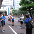 ■新潟駅前で解散